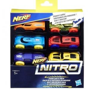 Nerf Нитро Игрушка машинки 6 штук