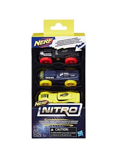 Nerf Нитро Игрушка машинки 3 штуки