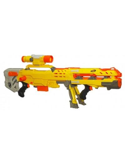Бластер Nerf  Лонгшот (Длинный выстрел) желтый