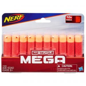 Стрелы Nerf Мега 10 штук