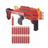 Бластер Nerf Мега Бульдог со стрелами