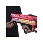 Бластер Nerf Райвал Зевс MXV-1200 красный