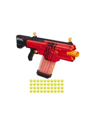 Бластер Nerf Райвал Хаос MXVI-4000 красный