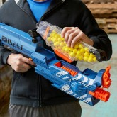 Бластер Nerf Райвал Немесис MXVII-10K синий